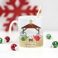 Nativi Tea Funny Christmas Mug