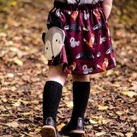 Girls Woodland Animal Print Skirt