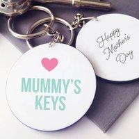 Personalised Mummy's Keys Keyring