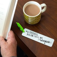 'My Favourite People Call Me Grandad' Bookmark