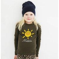 Personalised Sun T Shirt For Children