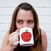 Personalised A Is For A* Teacher Mug