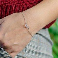 Tiny Interlocking Stars Bracelet