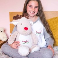 Personalised Childrens Winter Pyjamas And Case