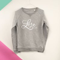 Love Established Personalised Sweatshirt