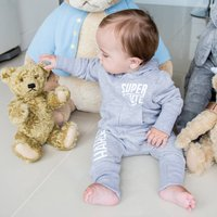 Super Cute Personalised Hooded All In One For Baby