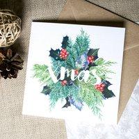 'Xmas' Christmas Card