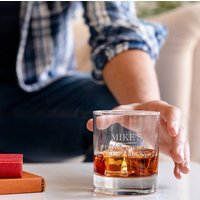 Personalised Whisky Tumbler Glass For Him
