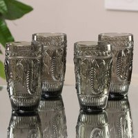 Savanna Paradise Set Of Four Hiball Tumblers