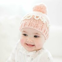 Knit Your Own Personalised Baby Hat In Peach Pink