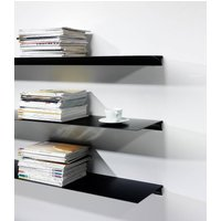 Exilis Shelf, White/Black