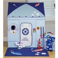 Large Outer Space And Rocket Play Tent