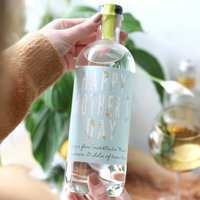 Personalised Mother's Day Bottle Of Gin Alternative