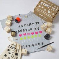 Childrens Diy Stamp Set Party Pack