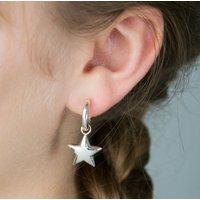 You're A Star Silver Earrings, Silver