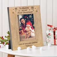 To Mummy On Our First Christmas Frame