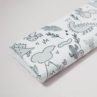 Dinosaur Deluxe Travel Baby Changing Mat