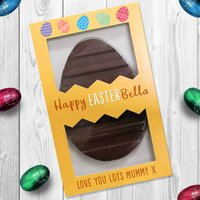 Personalised Happy Easter Chocolate Letterbox Gift