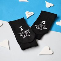 First Dance Wedding Socks