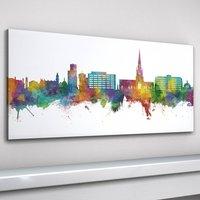 Solihull Skyline Cityscape Art Print