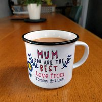 Personalised Best Mum Mug
