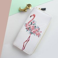 Personalised Flamingo Party Purse Wallet