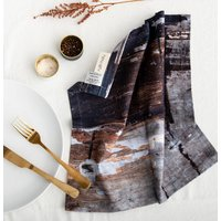 Abstract Textured Cotton Napkin Wholesome