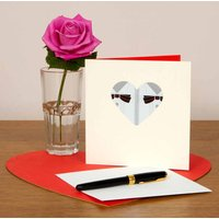 Heart Shaped Mr And Mr Wedding Card