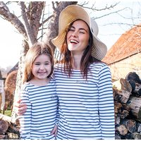 Personalised Mummy And Me Breton Tops