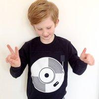 Child's Record/ Vinyl Sweatshirt
