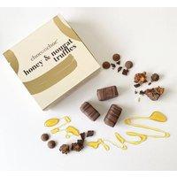 Honey And Nougat Chocolate Truffles