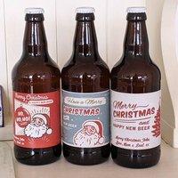 Personalised Christmas Beers
