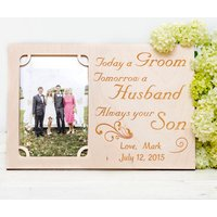 Parents Of Groom Personalised Photo Frame