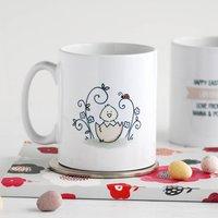 Easter Chick Personalised Mug