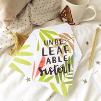 Unbelefable Sister Plant Gardening Birthday Card A6