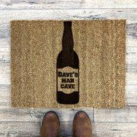 Beer Bottle Man Cave Doormat