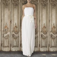 Pearl Beaded Bodice Gown