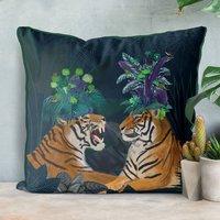 Hot House Tiger Decorative Cushions