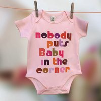 Babys First Film Quote Babygrow