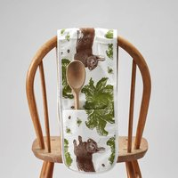 Rabbit And Cabbage Oven Gloves