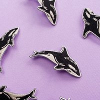 Killer Whale Embroidered Patch