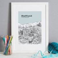 Personalised Sheffield Print