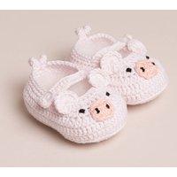 Baby Handmade Piggy Shoes