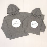 Brother Sister Circle Set Hoodies
