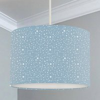 Blue Constellations Lampshade