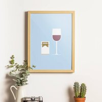 Cigarettes And Alcohol Print