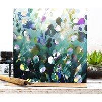 Midnight Botanica Floral Blank Gift Card