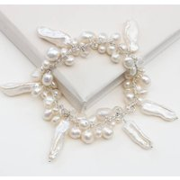 Assorted Pearl And Crystal Bracelet