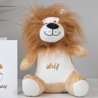 Personalised Lion Soft Toy