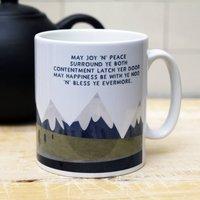 'Joy And Peace ' Mug